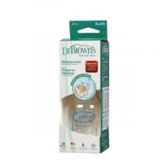 drbrowns 2oz Glass Baby Bottle