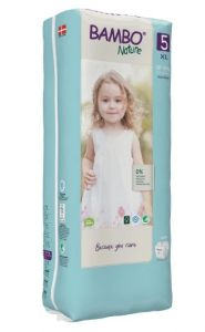 Bambo Nature Diapers No. 5 SIZE 5 (TALL) - (Weight: 12-18 KG)