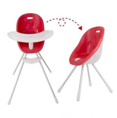 Phil & teds-Poppy High Chair CRANBERRY (OOS - next shipment TBC)