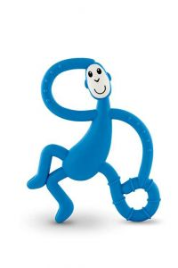 Matchstick Monkey - Dancing Monkey Teether - Blue