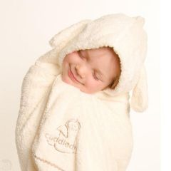 Cuddle Dry-Child Hooded Towels-SNUGGLE BUNNY