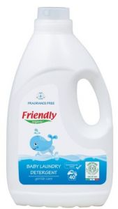 FRIENDLY ORGANIC-BABY LAUNDRY DETERGENT FRAGRANCE FREE 2000 ML