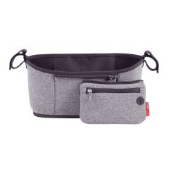 Skip hop-Grab & Go Stroller Organizer Heather Grey