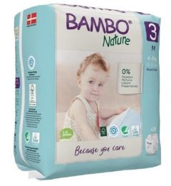 Bambo Nature Diapers No. 3 SIZE 3 (Weight: 4-8 KG)