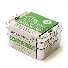 Eco Lunchbox-Classic Lunch Box Steel 3 in 1