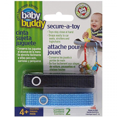 Baby Buddy Secure-A-Toy, NAVY BLUE - DEFAULT TITLE