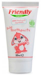 Friendly Organic-Baby Toothpaste Strawberry - 50ML