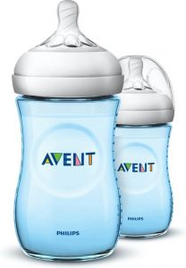 Philips Avent Natural 2.0 Bottle BLUE260ML X2