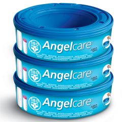Angelcare - Nappy Disposal System - Refill Cassettes 3-Pack