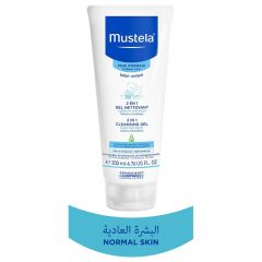 Mustela 2in1 Cleansing Gel  200 ml(N)
