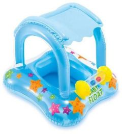 Intex - Baby Float with Sun Shade and Toys