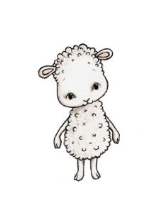 Charlie the Sheep Wall Sticker