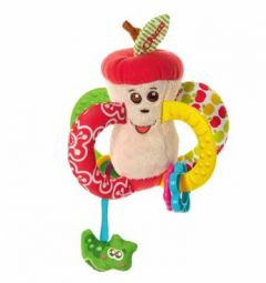 CHICCO FIRST ACTIVITY RATTLE APPLE