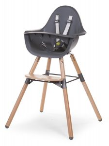 Childhome Evolu 2 Chair 2 in 1Bumper Natural Anthracite