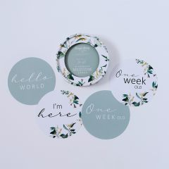 Eucalypt and Sage Reversible Milestone Cards
