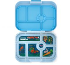 Yumbox Luna blue - 6 compartment