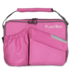 planet box Perfectly Pink lunch bag