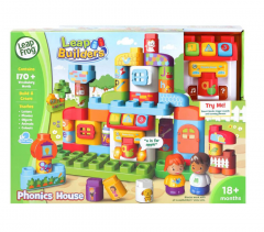 LEAPFROG BLOCK PLAY PHONIC HOUSE