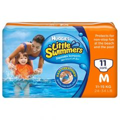 Huggies  little swimmers medium 11kg-15kg  11diapers