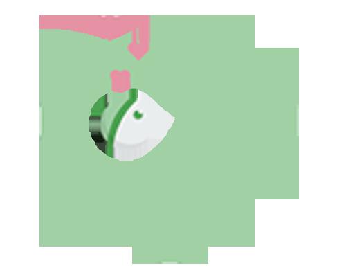 Summer Clean Rinse Baby Bather-Grey