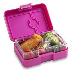 Yumbox MiniSnack Leakproof Snack Box (Neptune Purple) - Small Size