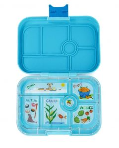 Yumbox-Blue Fish Orginal Yumbox Lunch Box