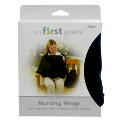 The First Years -Nursing Privacy Wrap Black 0 Months