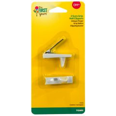 The First Years -Sure Grip Nail Clippers  (Pack of 2)